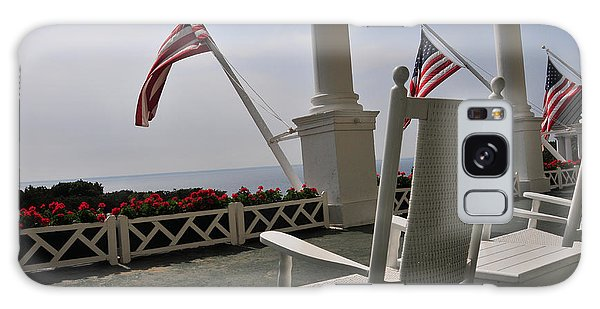 Front Porch II Grand Hotel On Mackinac Island Galaxy Case