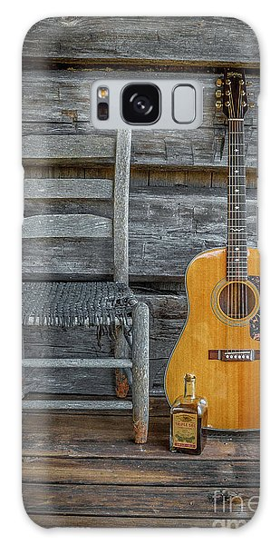 Front Porch Pick'n Galaxy Case by Marion Johnson