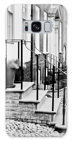 Banister Galaxy Case - Front Steps by Tom Gowanlock