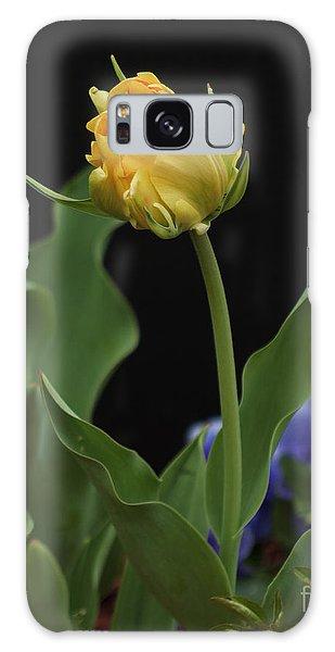 Front Yard Tulip Galaxy Case