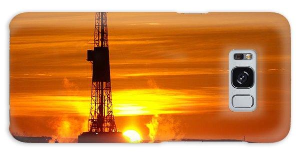 Frontier Nineteen Xto Energy Culbertson Montana Galaxy Case by Jeff Swan
