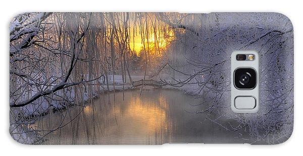 Frosty Morn 2 Galaxy Case by Dan Myers