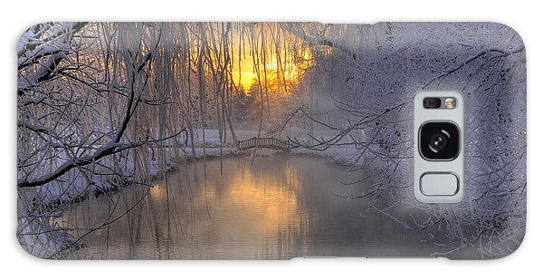 Frosty Morn 2 Galaxy Case by Dan Myers