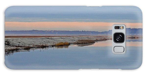 Frosty Morning Galaxy Case by Nancy Landry