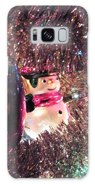 Frosty Snowman Galaxy Case