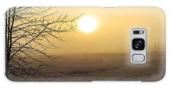 Frosty Sunrise Galaxy Case