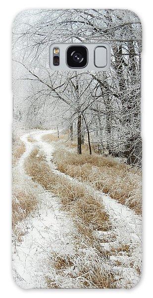 Frosty Trail Galaxy Case