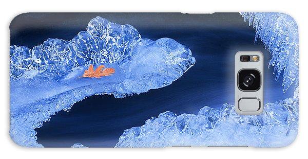 Frozen Beauty Aka Ice Is Nice Galaxy Case by Bijan Pirnia