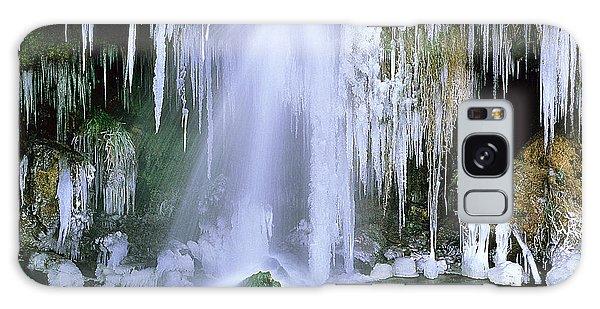 Frozen Beauty Aka Ice Is Nice Xi Galaxy Case by Bijan Pirnia