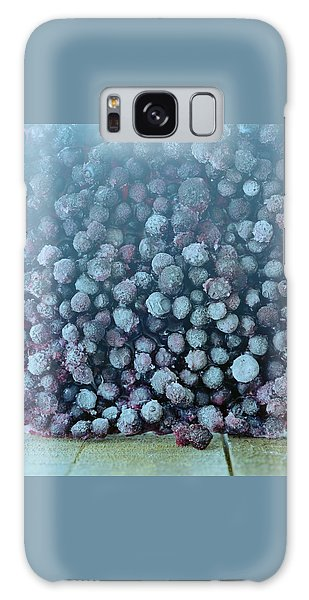 Frozen Blueberries Galaxy Case