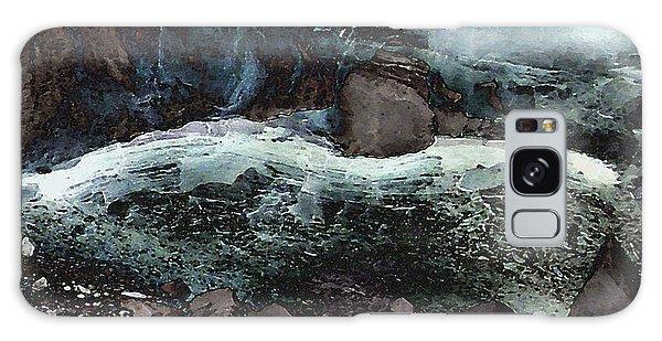 Frozen Cave Galaxy Case