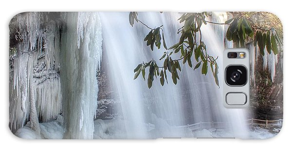 Frozen Dry Falls Galaxy Case