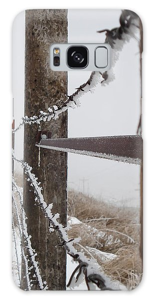 Frozen Fence Line Galaxy Case