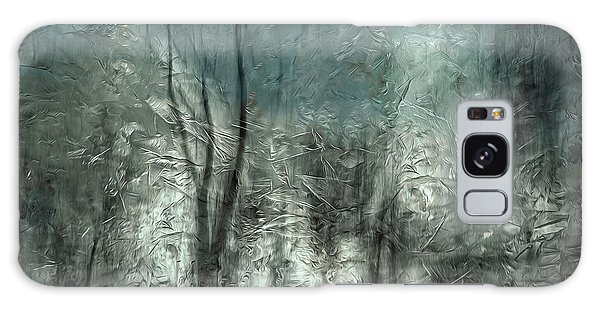 Ice Galaxy Case - Frozen Frost Wood by Gilbert Claes