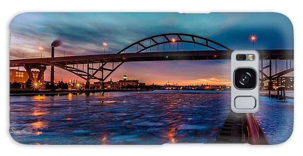 Frozen Hoan Bridge Galaxy Case by Randy Scherkenbach