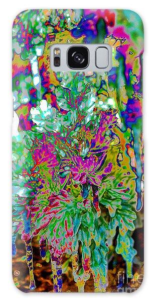 Galaxy Case featuring the digital art Frozen Juniper by Mae Wertz