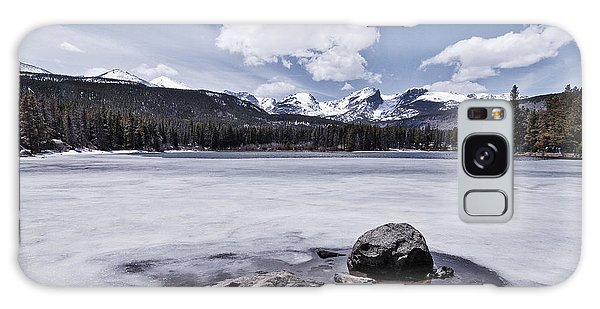 Galaxy Case featuring the photograph Frozen Lake by Mae Wertz