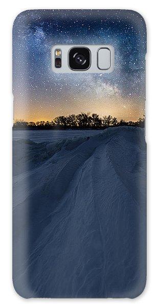 Venus Galaxy Case - Frozen Lake Minnewaska Milky Way by Aaron J Groen