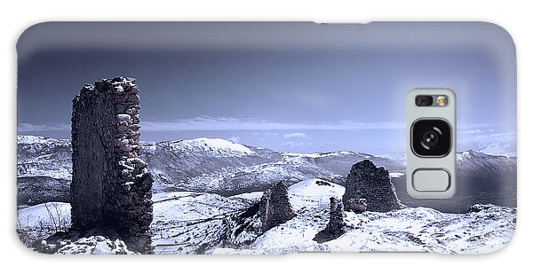 Frozen Landscape Galaxy Case