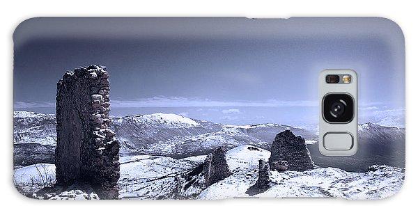 Frozen Landscape Galaxy Case by Andrea Mazzocchetti