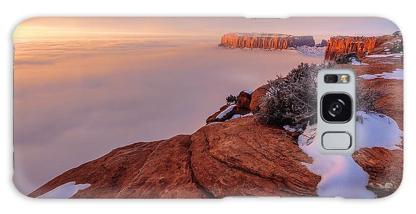 Islands In The Sky Galaxy Case - Frozen Mesa by Chad Dutson