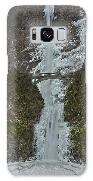 Frozen Multnomah Falls Ffa Galaxy Case