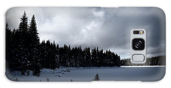 Frozen Nickel Plate Lake Galaxy Case by Guy Hoffman