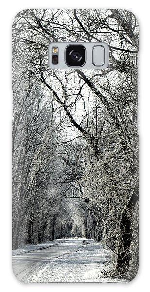 Frozen Road Galaxy Case by Wayne Meyer