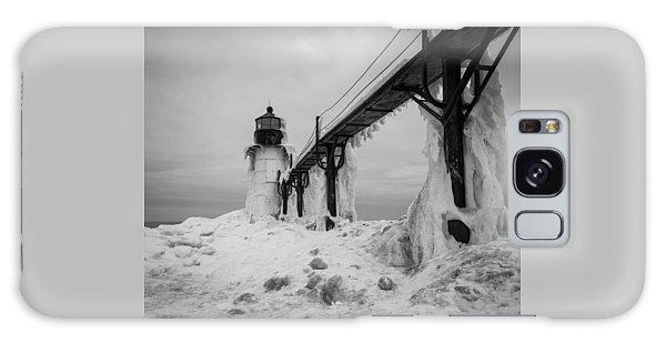 Frozen St. Joseph Lighthouse Galaxy Case