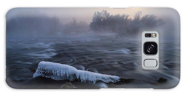 River Galaxy Case - Frozen by Tom Meier