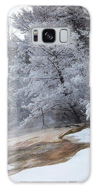 Frozen Tree Galaxy Case