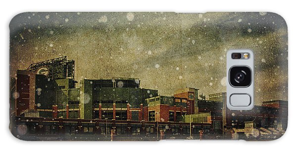 Frozen Tundra Part II - Lambeau Field Galaxy Case by Joel Witmeyer