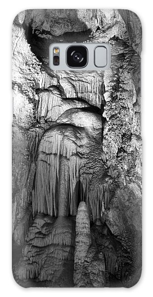 Frozen Waterfall In Carlsbad Caverns Galaxy Case