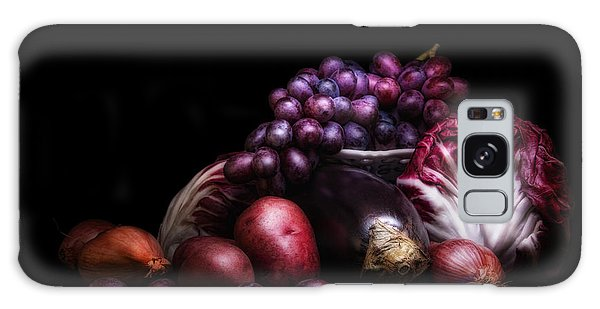 Fruit And Vegetables Still Life Galaxy Case