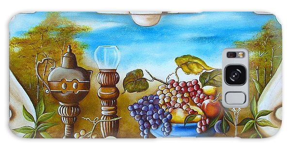 Fruit And Vino Galaxy Case by Joseph Sonday