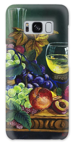 Fruit And Wine Galaxy Case by Karon Melillo DeVega