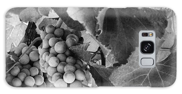Fruit -grapes In Black And White - Luther Fine Art Galaxy Case