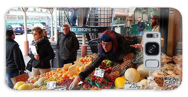 Fruit Market Vendor Galaxy Case