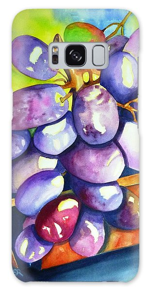 Purple Grapes Galaxy Case