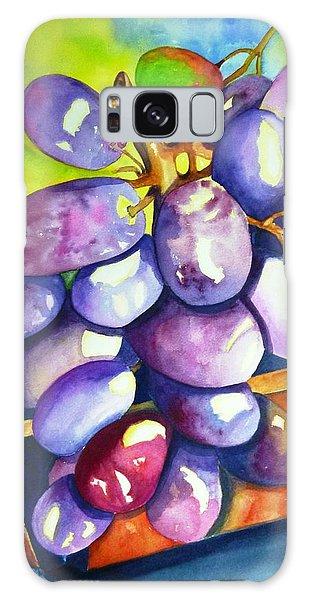 Purple Grapes Galaxy Case