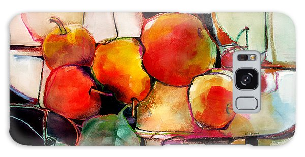 Fruit On A Dish Galaxy Case by Michelle Abrams
