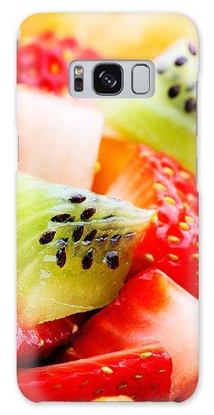 Food Galaxy Case - Fruit Salad Macro by Johan Swanepoel