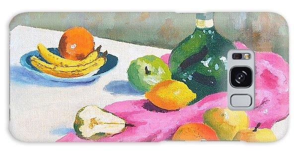 Fruit Still Life Galaxy Case by Val Miller