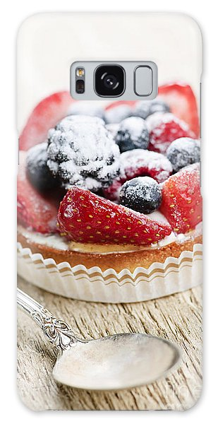 Fruit Tart With Spoon Galaxy S8 Case