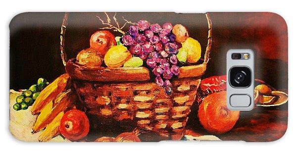 Fruit Wickerbasket Etc. Galaxy Case
