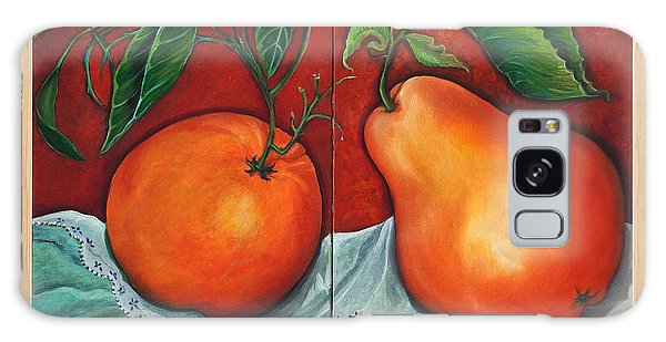 Fruits Pears Galaxy Case by Yolanda Rodriguez