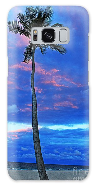 Ft Lauderdale Palm Galaxy Case by Alison Tomich