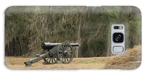 Ft. Mcallister Cannon 2 In Color Galaxy Case