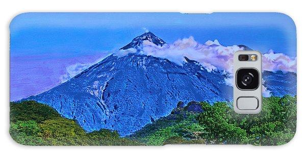 Fuego Volcano Guatamala Galaxy Case