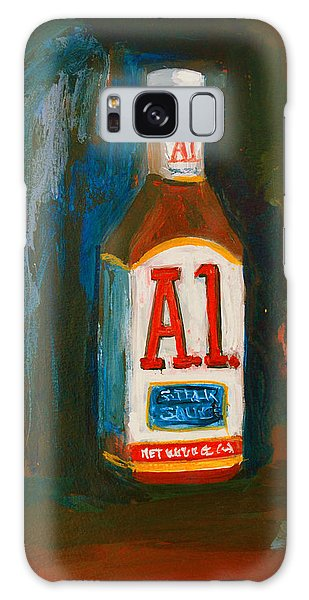 Full Flavored - A.1 Steak Sauce Galaxy Case